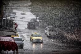 فلسطين على موعد مع الأمطار والمنخفضات الجوية خلال الأيام القادمة
