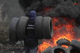 اصابة العشرات في مواجهات مع الاحتلال بكفرقدوم