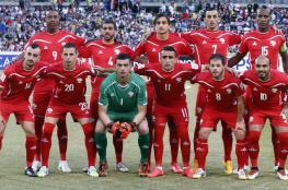 """المنتخب الفلسطيني  يتقدم 10 مراكز في تصنيف """"الفيفا"""""""
