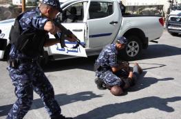 الشرطة تضبط مواد مخدرة وتكشف ملابسات حرق مركبة في جنين