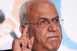 عريقات يدعو الاتحاد الأوروبي للاعتراف بدولة فلسطين