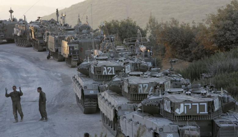 اسرائيل تقرع طبول الحرب وفيديو يرصد الحشودات العسكرية