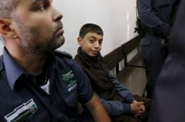 """الاحتلال يحكم بالسجن لمدة """" 6 """" سنوات ونصف  على الطفل معاوية علقم """""""