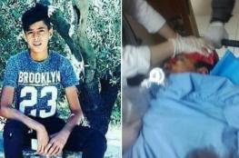 استشهاد فتى من رام الله بعد اطلاق النار عليه من مسافة صفر