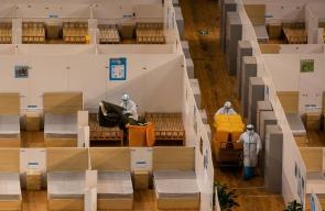 اغلاق مستشفى ووهان الصينية بعد شفاء ومغادرة المرضى