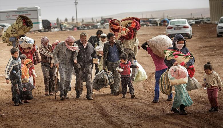 أكثر من نصف مليون لاجئ سوري عادو الى منازلهم هذا العام