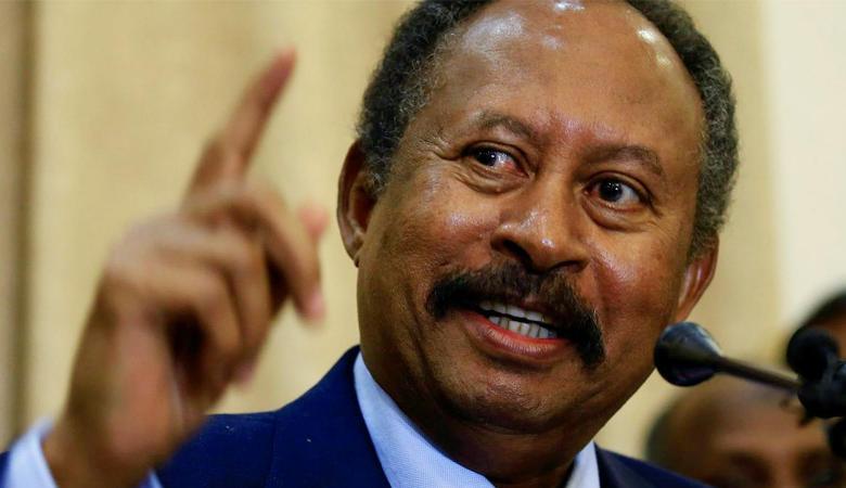 حمدوك: نرفض ربط التطبيع مع الاحتلال برفع اسم السودان من قائمة الإرهاب