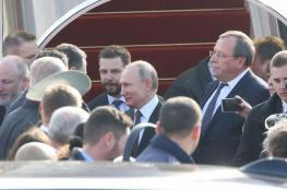 """بحاشية مكونة من 200 شخص..بوتين يصل """"اسرائيل """""""