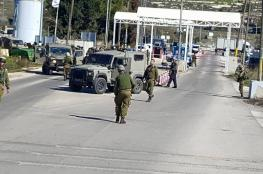 """إغلاق حاجز """"بيت ايل"""" شمال رام الله حتى إشعار آخر"""