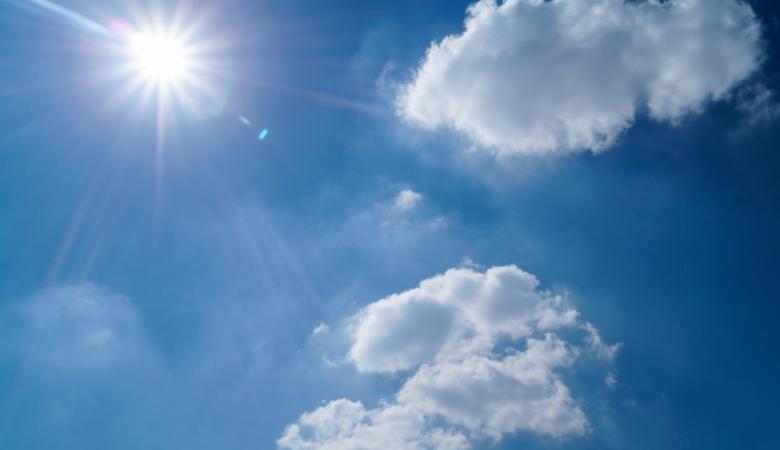 الطقس: الحرارة أعلى من معدلها العام بحدود 12درجة مئوية