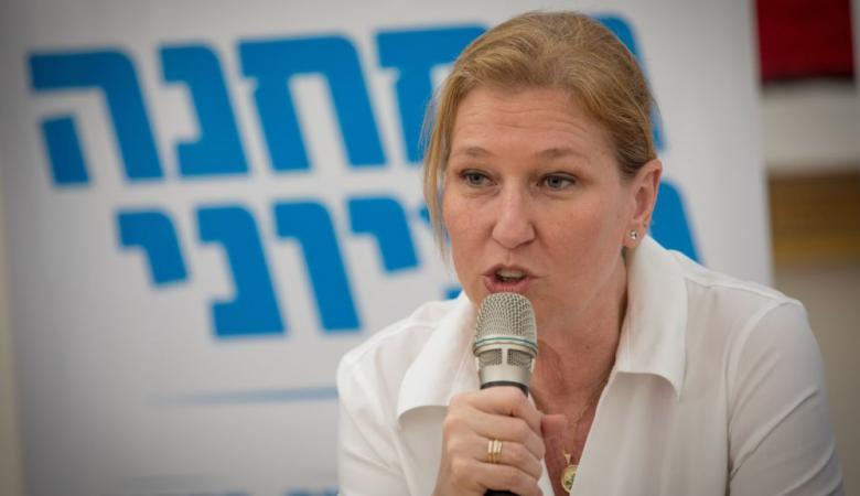 ليفني : نتنياهو يهول الامور في الشمال لتغطية فشله امام حماس