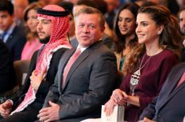 """العاهل الاردني والملكة رانيا يشكران """"علي بابا """""""