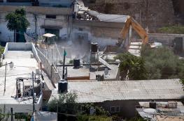 الاحتلال يشرع بهدم منزل في سلون ويستعد لهدم آخر ببيت حنينا