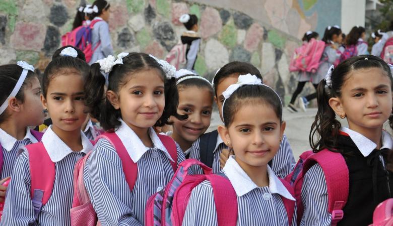 """مدارس """"الأونروا"""" في الضفة تبدأ استعدادتها لبدء العام الدراسي"""