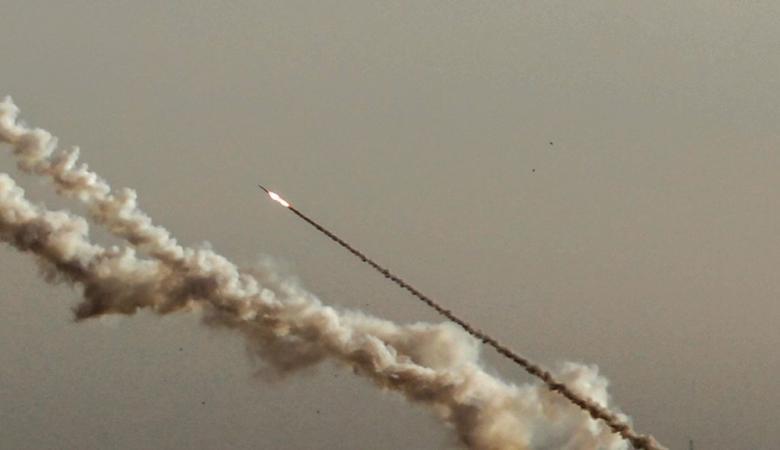 """""""اسرائيل """" : حماس تطلق رشقة صواريخ تجريبية صوب البحر"""