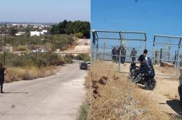 اعتقال عشرات الشبان ومصادرة سيارات بعد اقتحام الحدود وفتح البوابات
