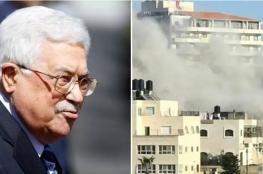 """الرئيس يوعز باعادة بناء منزل عائلة """"ابو حميد """""""
