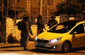 الاحتلال يقتحم مدينة رام الله لللمرة الثانية على التوالي
