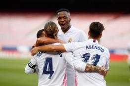 ريال مدريد يدك شباك برشلونة ويلحق به الهزيمة