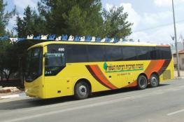 4 حافلات تقل مستوطنين تقتحم بلدة سبسطية شمال نابلس