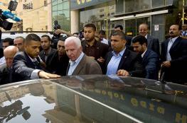 الاحمد : غزة مخطوفة وسنعمل كل شيء لاعادتها الى حضن الشرعية