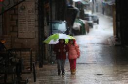 الأمطار تعود لفلسطين قبل منتصف الاسبوع المقبل
