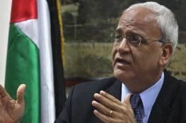 عريقات يطلع دبلوماسيين على الانتهاكات الإسرائيلية جنوب نابلس
