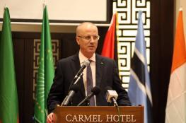 الحمد الله: اسرائيل تحاول جر المنطقة للدمار بالتصعيد في غزة