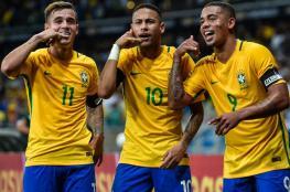 البرازيل تعلن عن تشكيلتها في مونديال روسيا