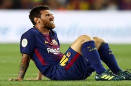"""""""خطوة غريبة"""" من ميسي تقلق جماهير برشلونة"""