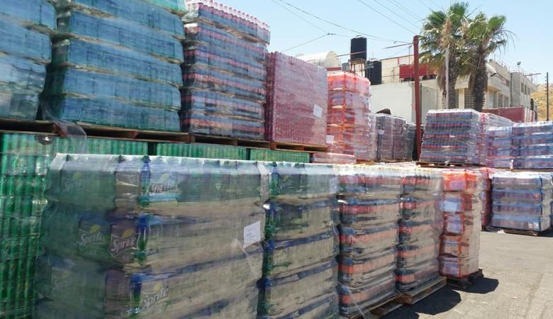 رام الله تحظر على التجار عرض المياه والمشروبات تحت أشعة الشمس
