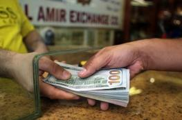 الدولار يواصل هبوطه مقابل الشيقل