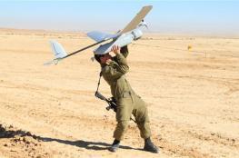 سقوط طائرة استطلاع اسرائيلية في احد أحياء مدينة الخليل