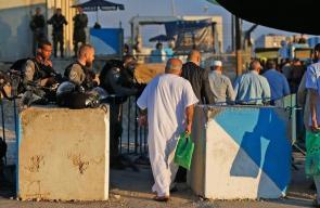 الزحف نحو المسجد الاقصى لصلاة الجمعة الاخيرة من رمضان