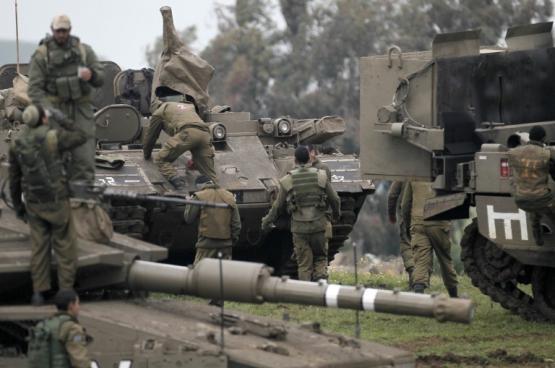 تدريب عسكري الاضخم  في الضفة الغربية منذ خمس سنوات