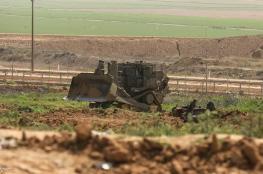 جرافات الاحتلال تتوغل شرق غزة
