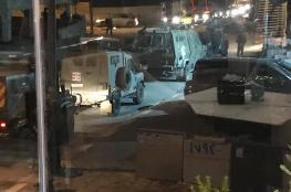 قوة اسرائيلية تقتحم عدة أحياء في مدينة رام الله