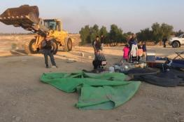 جرافات الاحتلال تهدم العراقيب للمرة 120 على التوالي
