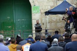 قوات الاحتلال تغلق الأقصى  وتطرد المصلين منه