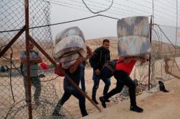 الاحتلال يمنع مئات العمال من الدخول الى الاراضي المحتلة