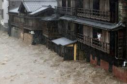 ارتفاع حصيلة ضحايا الإعصار باليابان إلى 70 قتيلا