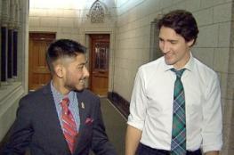"""شابٌّ مصاب بالسرطان """"يحكم"""" كندا لأسبوع بعد أن تنازل له رئيس الوزراء عن منصبه"""