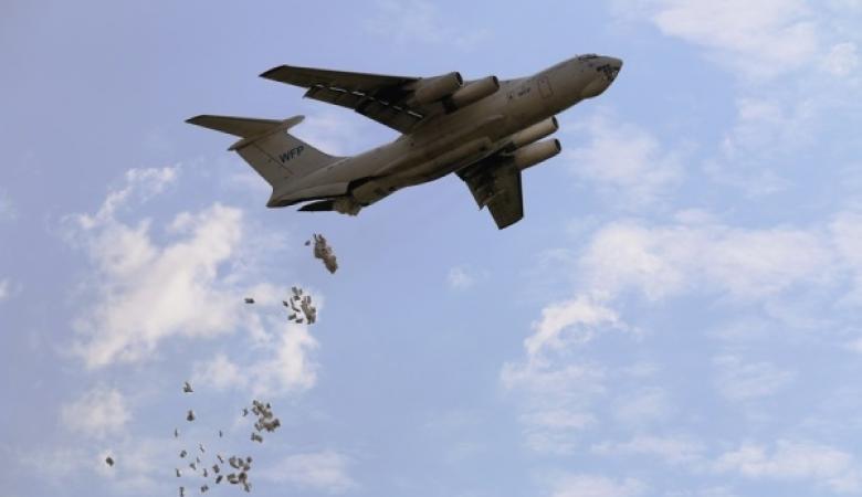 الولايات المتحدة تنفذ عملية انزال جوي في سوريا