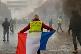 بعد اسابيع من المظاهرات العارمة ...الرئيس الفرنسي يلقي خطابا اليوم
