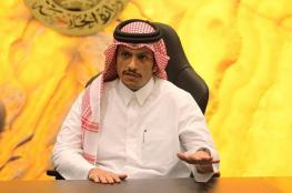 """وزير خارجية قطر : اذا تركنا غزة على حالها ستكون بؤرة لتنظيم """" داعش """""""