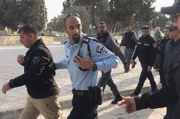 بعد السابقة الخطيرة ...الاحتلال يحقق مع رئيسة شعبة حارسات الأقصى