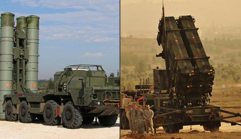 """دراسة تكشف الافضل بين نظامي صواريخ أس 400 الروسية و""""باتريوت"""" الأمريكية"""
