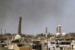 """منبر """"خلافة داعش"""" بالعراق يتحوَّل إلى أنقاض.. تدمير تام لمسجد النوري  الذي شيد قبل 850 عاماً"""