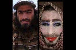 """الجيش العراقي يعتقل """"داعشي """" غبي  تنكر كامرأة ونسي شاربه"""