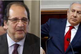 مدير المخابرات المصري يلتقي نتنياهو بتل أبيب